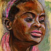 African American 3 Print by Xueling Zou