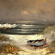 After The Storm Passed Print by Sandi OReilly