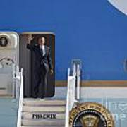 Air Force One Print by Jim West