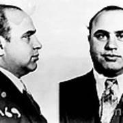 Al Capone Mug Shot Print by Edward Fielding