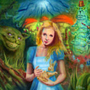 Alice  Print by Luis  Navarro