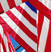 American Flags Print by Nathan Griffith