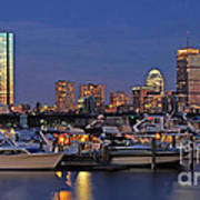 An Evening On The Charles Print by Joann Vitali