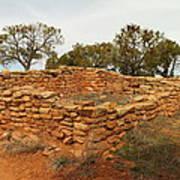 Anasazi Ruins Southern Utah Print by Jeff Swan