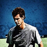 Andy Murray Print by Nishanth Gopinathan