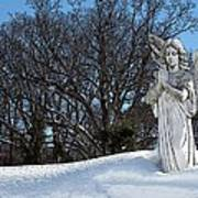 Angel Of Eternal Sunshine Print by Teak  Bird