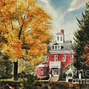 Antebellum Autumn Ironton Missouri Print by Kip DeVore