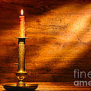 Antique Candlestick Print by Olivier Le Queinec