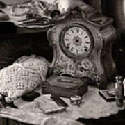 Antique Dresser I Print by Maria Angelica Maira