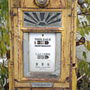 Antique Gas Pump Print by Peter French
