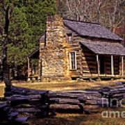 Appalachian Homestead Print by Paul W Faust -  Impressions of Light