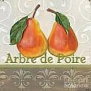 Arbre De Poire Print by Debbie DeWitt