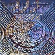 Arena Song Print by Mark Howard Jones