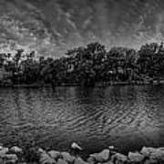 Arkansas River Panorama Print by  Caleb McGinn