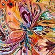 Artwork Fragment 45 Print by Elena Kotliarker