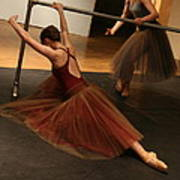 At The Barre Print by Kate Purdy