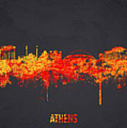 Athens Greece Print by Aged Pixel
