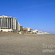 Atlantic City New Jersey Print by Olivier Le Queinec