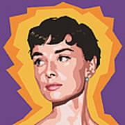 Audrey Print by Douglas Simonson
