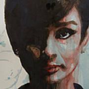 Audrey Hepburn  Print by Paul Lovering
