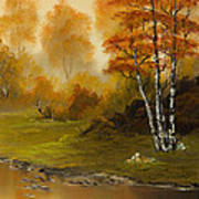 Autumn Splendor Print by C Steele