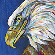 Bald Eagle Print by Lovejoy Creations