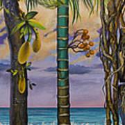 Banana Country Print by Vrindavan Das