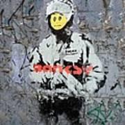Banksy  Print by A Rey