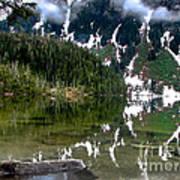 Baranof Lake Print by Robert Bales