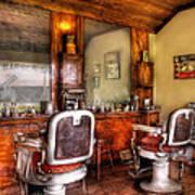 Barber - The Barber Shop II Print by Mike Savad