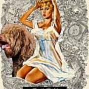 Barbet Art - Una Parisienne Movie Poster Print by Sandra Sij