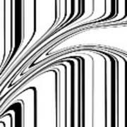 Barcode II  C2014 Print by Paul Ashby
