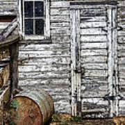 Barn Door Print by Armando Picciotto