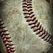 Baseball - A Retired Ball Print by Paul Ward