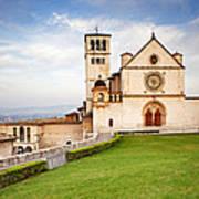 Basilica Of Saint Francis Print by Susan Schmitz