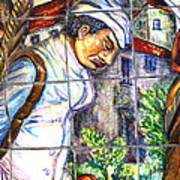 Bastille Metro No 3 Print by A Morddel