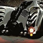 Batmobile 2 Print by Cathy Smith