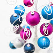 Baubles From Above Print by Anne Gilbert