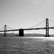 Bay Bridge Print by Rona Black