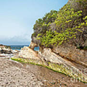 Beach At Montana De Oro Print by Artist and Photographer Laura Wrede