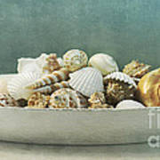 Beach In A Bowl Print by Priska Wettstein