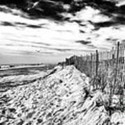 Beach Side Cape May Print by John Rizzuto