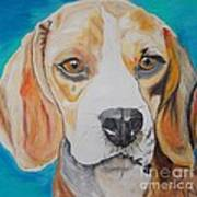 Beagle Print by PainterArtist FIN