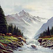 Bear Mountain Print by Robert Foster