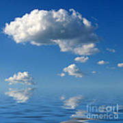 beautiful Clouds Print by Boon Mee