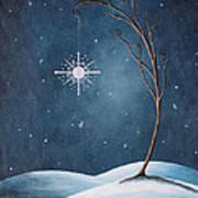 Beautiful Winterland By Shawna Erback Print by Shawna Erback