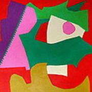 Bebop Print by Diane Fine
