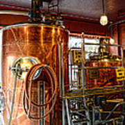 Beer - The Brew Kettle Print by Paul Ward