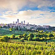 Bella Toscana Print by JR Photography