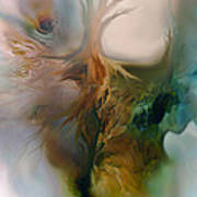 Beneath Print by Carol Cavalaris